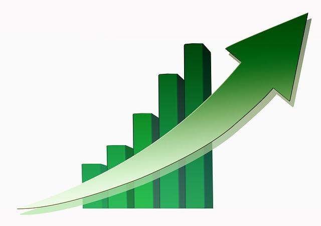 zelený graf