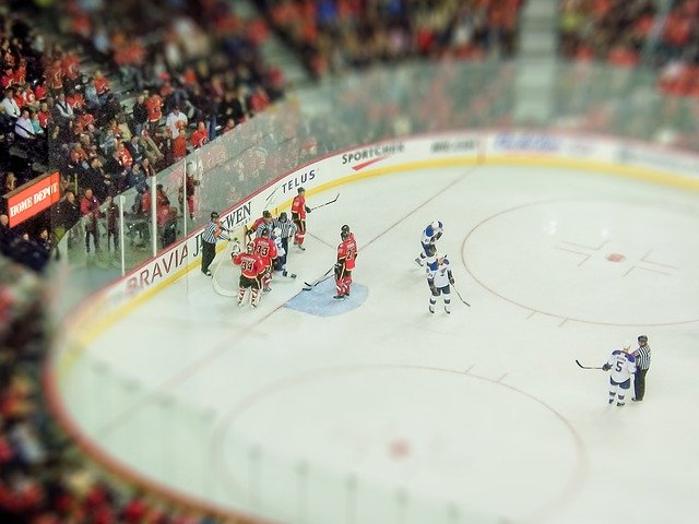 hokejový zápas