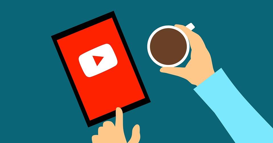 sledování YouTube
